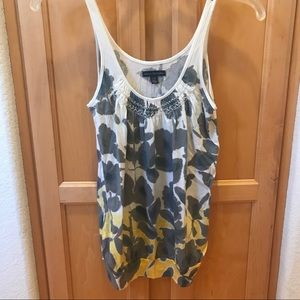 Watercolor Flower tank top